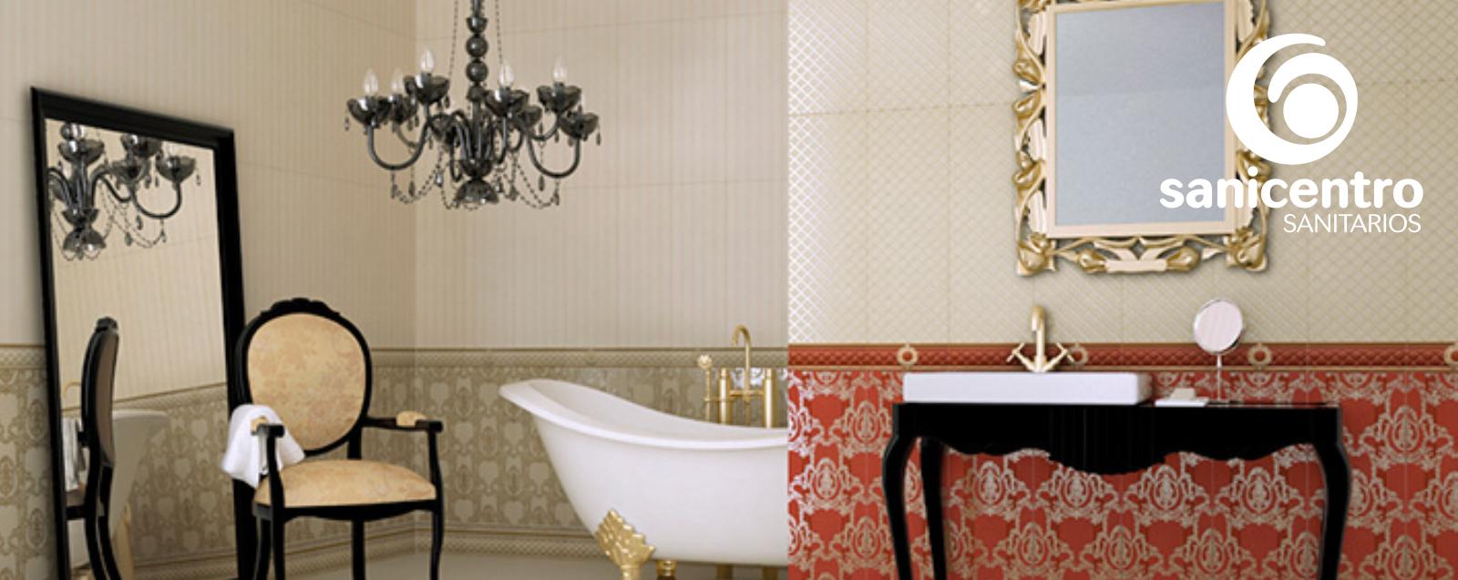 Cuartos de baño estilo barroco - Sanicentro